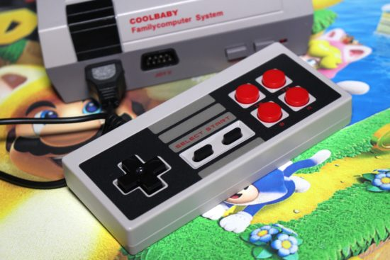 coolbaby nintendo nes controllers