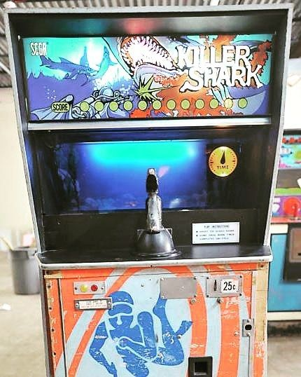 video games 1972 killer shark