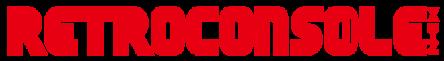 retro console logo