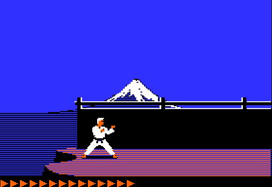 video games 1984 karateka