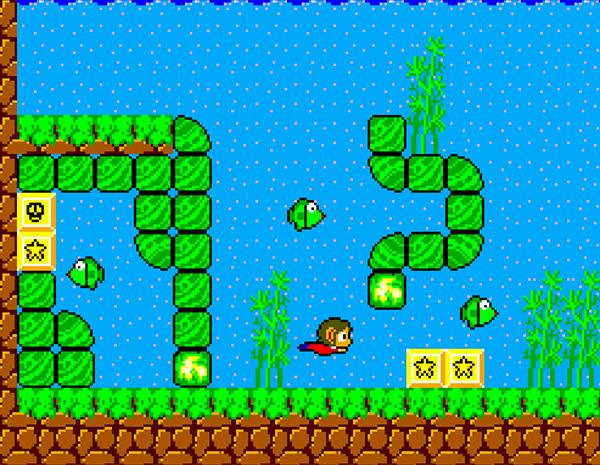 video games 1986 alex kidd