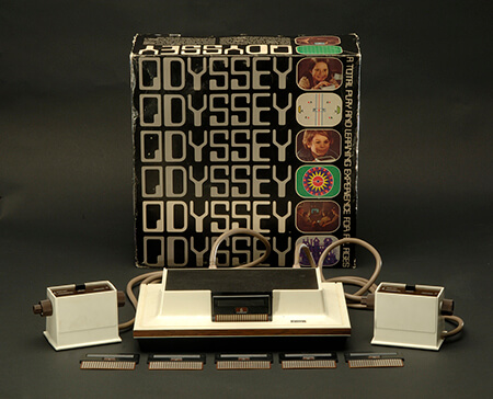 video games 1972 magnavox odyssey