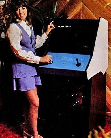 space race atari 1973