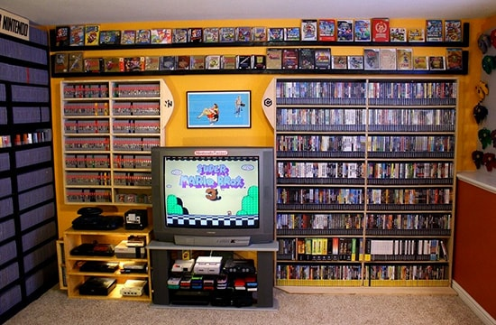 video game consoles collection