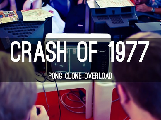 video games 1977 crash