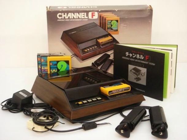fairchild channel f console