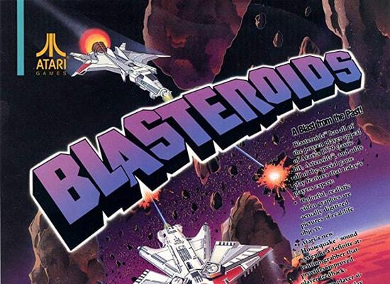 blasteroids arcade