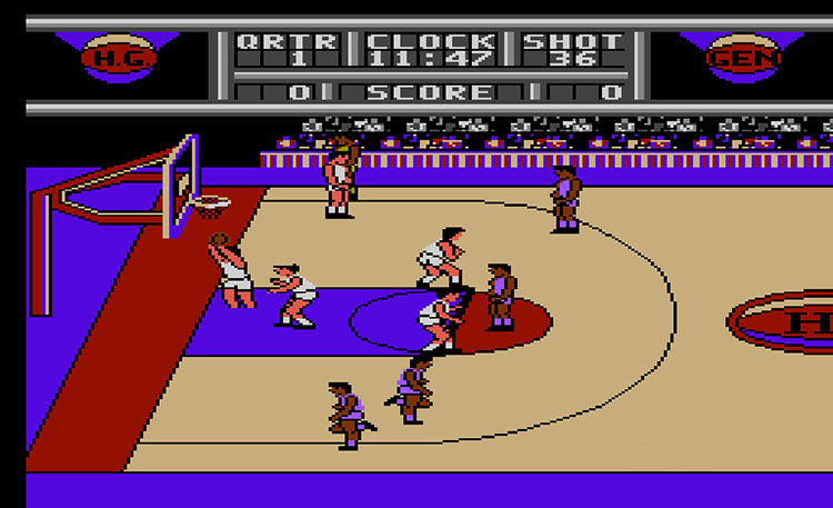 harlem basketball video game 1991